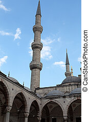 Istambul - The Sultan Ahmed Mosque Mosque, popularly known as the Blue Mosque