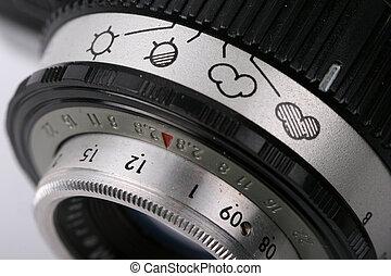 vintage german camera lens