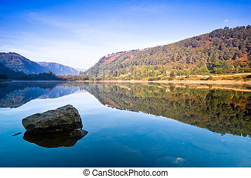 Lake in Glendalough