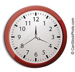 Clock, vector eps10 illustration