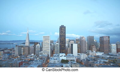 San Francisco Sunset Timelapse - Timelapse of the San...