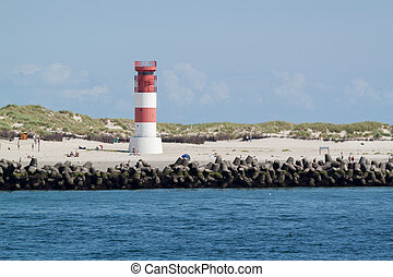 Lighthouse on Heligoland
