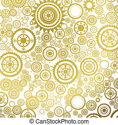 pattern with sprockets - seamless pattern with sprockets