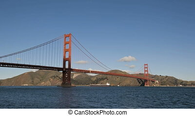 San Francisco Golden Gate Bridge timelapse