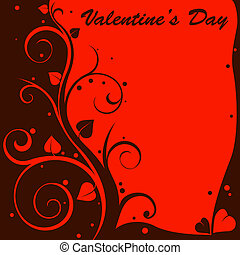 love background  - red and black love background