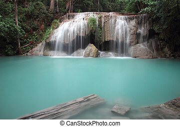 Huay Maekhamin Waterfall - Waterfall of Thailand is most...