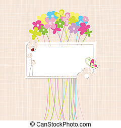 Springtime Colorful Flower Greeting Card - Springtime...