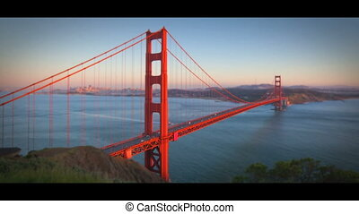 Timelapse San Francisco Golden Gate Bridge - San Francisco...
