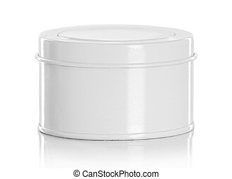 White beauty hygiene container