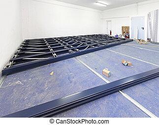 Sliding Shelves construction