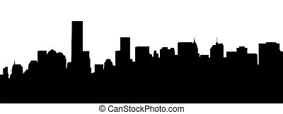 manhattan skyline - very big size new york manhattan skyline...
