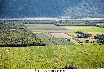 Rural Fields in Alaska