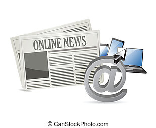 online news and electronic tools