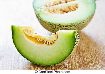 Honeydew - A type of Melon called Honeydew