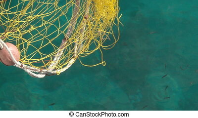 Fishing Net - Yellow Fishing Net