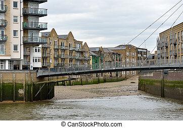 Modern Dockland Scene London