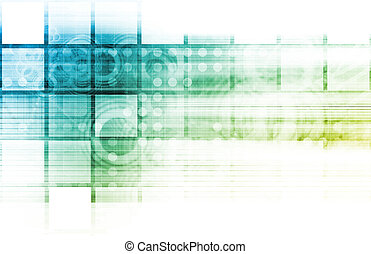 Medical Technology Background as a Art Concept