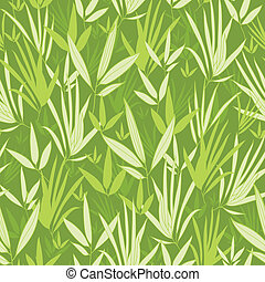 Bamboo branches seamless pattern background - Vector bamboo...