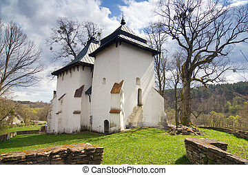 An old Orthodox church, Bieszczady Mountains, South Eastern...
