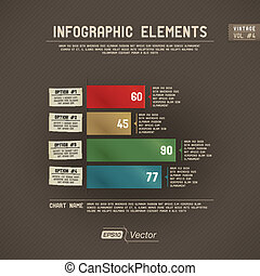 Detailed colorful infographic - infographic chart