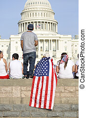 Rally for immigration reform - Washington D.C. - April 10,...