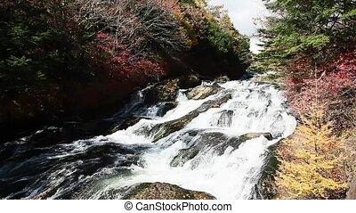 Ryuzu falls in Japan