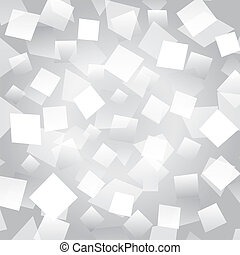 White abstract background with rectangles