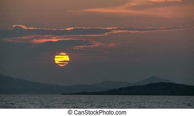 Sunset in Timelapse