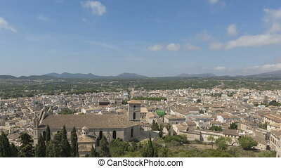 Timelapse Arta - Time lapse view over the city of Arta with...