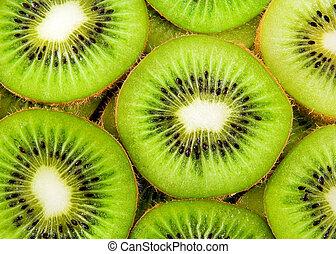 kiwi fruit slices background - beautiful kiwi fruit slices...