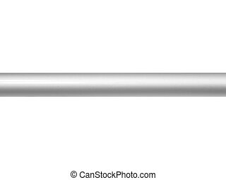 Bars - Metal bars isolated against a white background