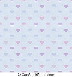 Vintage heart background