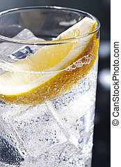 Gin Tonic or Tom Collins - Gin Tonic Tom Collins on the...