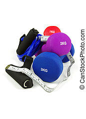 exercise equipment - exercise training equipment and tape...