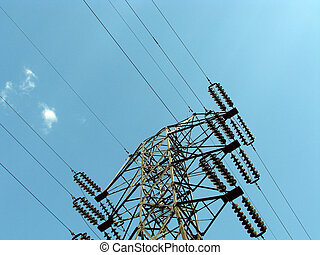 The electric power line - The electric power transmission...