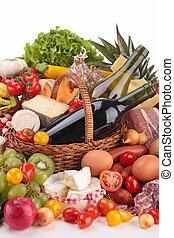 composition of groceries