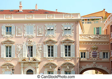 Force Publique Monaco - Force Publique building at the Place...