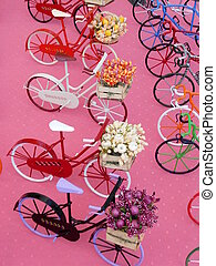 miniature, bicycles