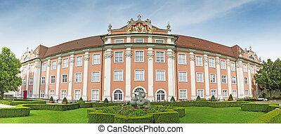 New Castle of Meersburg - The New Castle of Meersburg, Lake...