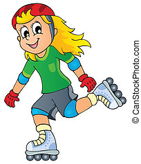 Outdoor sport theme image 1 - eps10 vector illustration.
