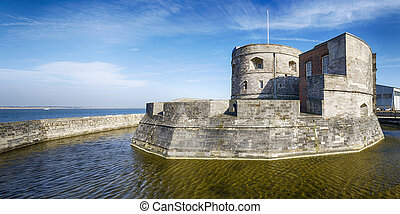 Calshot Castle - The historic Calshot Castle on the edge of...