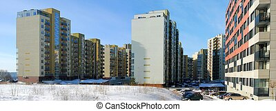 Perkunkiemis residential block - new view of Vilnius city