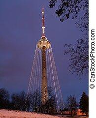 Vilnius television tower