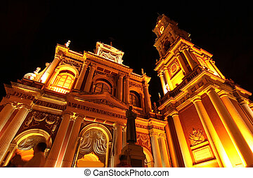 Church of Saint Francis in Salta - The church of Saint...