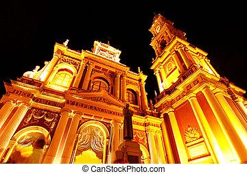 Church of Saint Francis in Salta - The church of Saint...