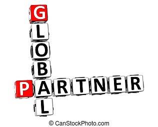 3D Global Partner Crossword