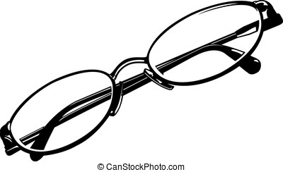 Eye Glasses - This is a vector graphic of eye glasses.