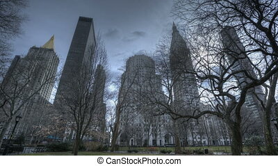 Madison Square Park Skyline - HDR-Timelapse Madison Square...