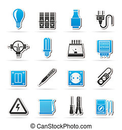 Electrical devices icons