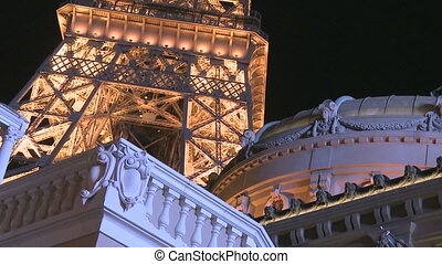 Eiffel Tower Las Vegas - The Eiffel Tower in Las Vegas at...